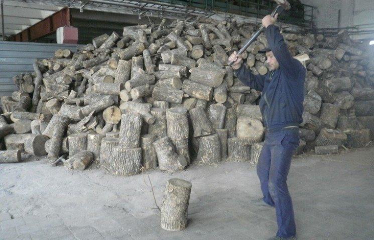 Харківську колонію грітимуть дровами, щоб зекономити газ