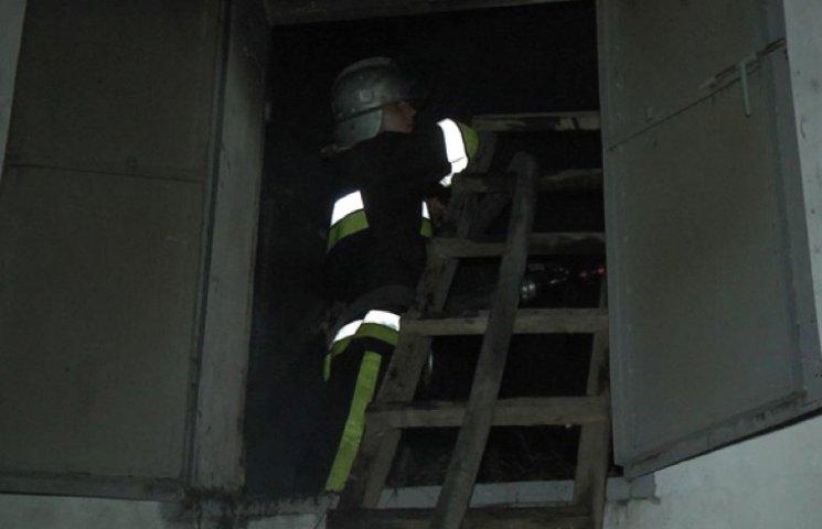 На Хмельниччині знову пожежа на свинарнику