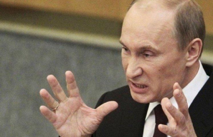 Путин уже обвиняет Украину в практике террора