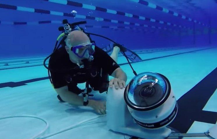 Як на Олімпійських іграх роблять підводну зйомку