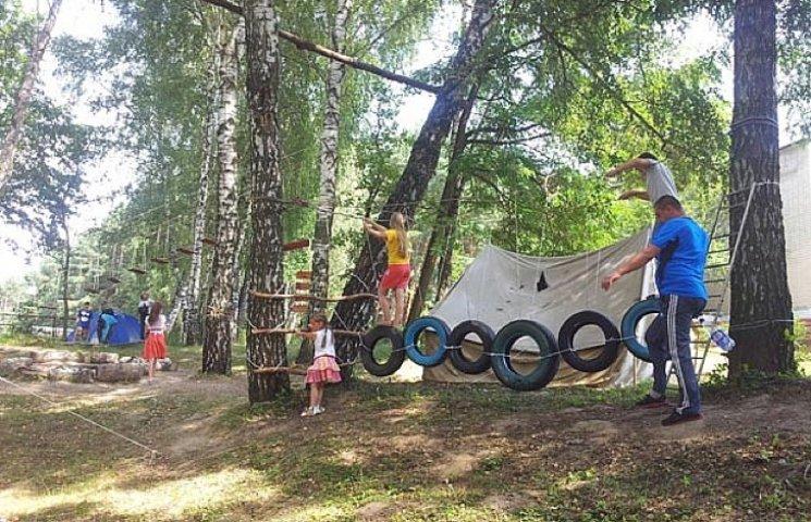 Діти атомників Хмельниччини ціле літо відпочивають на Закарпатті