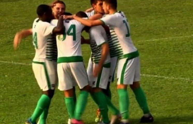 Вінницька футбольна команда вийшла в третій етап Кубку України