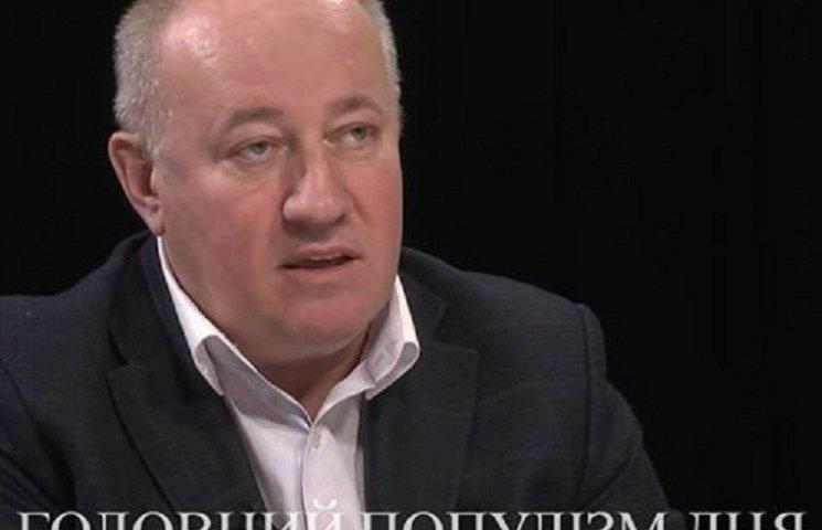 """Главный популист дня: Чумак, который в середине августа пугает """"летней коррупционной контратакой"""""""