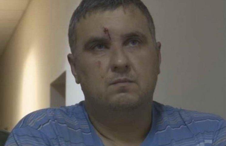 Окупанти показали, як допитували Панова у Криму