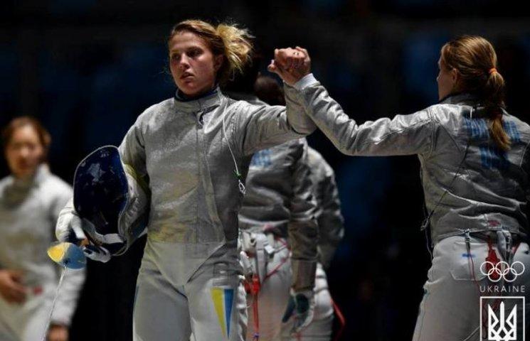 Харлан зі збірною з фехтування вийшла в фінал Олімпіади