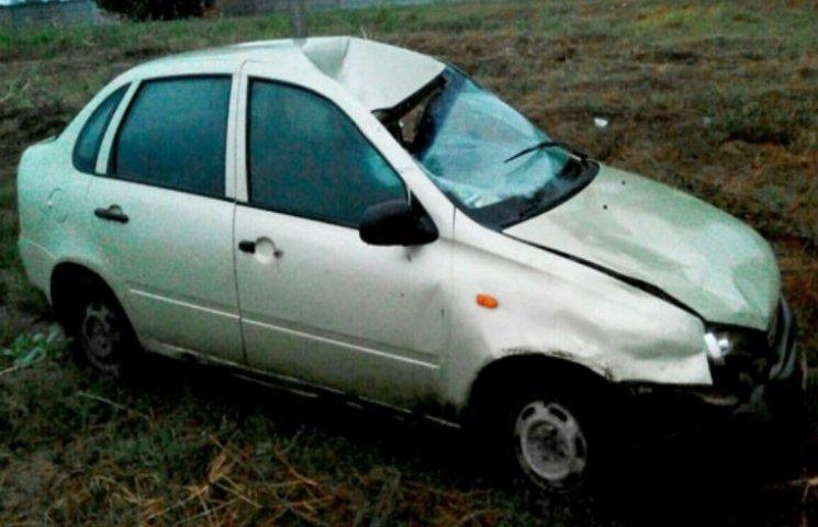 На Полтавщині водій наїхав на трьох пішоходів, покинув машину і втік