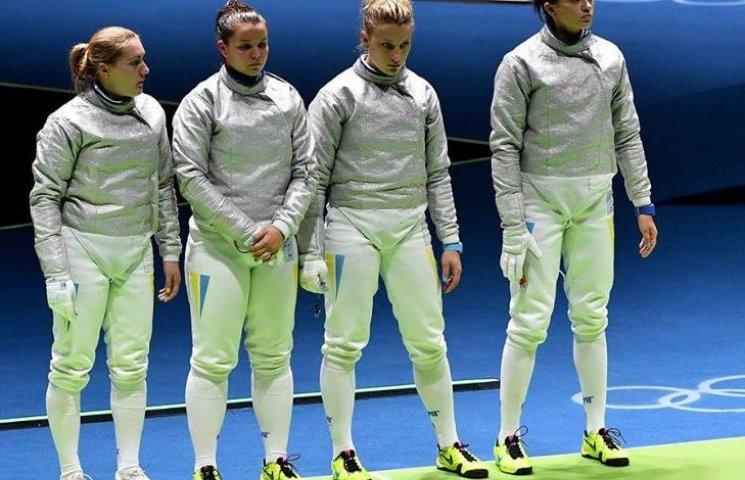 """У """"срібному"""" складі олімпійських фехтувальниць є й представниця Хмельниччини"""
