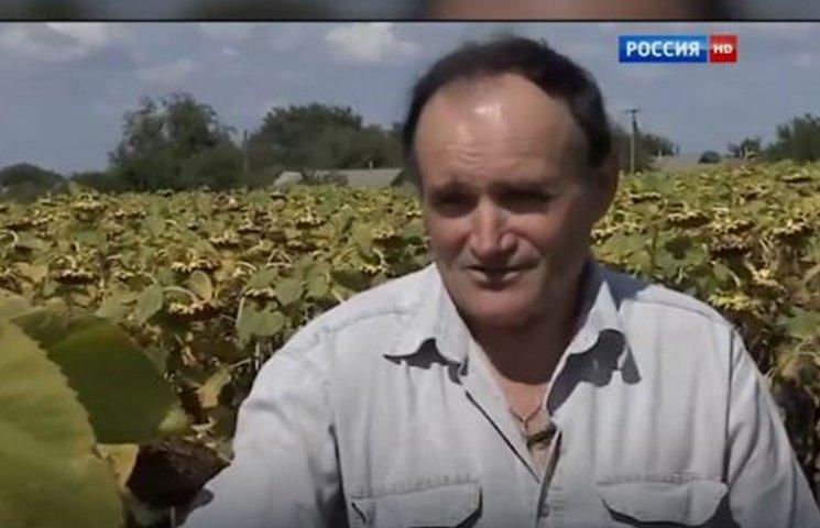 Як роспропаганда нахабно використала фермера з Харківщини для брехливого сюжету