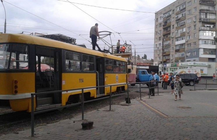 У Миколаєві в заторі опинилися п