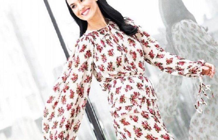 Єфросиніна вдягла модну сукню за $1500 як у Ріанни