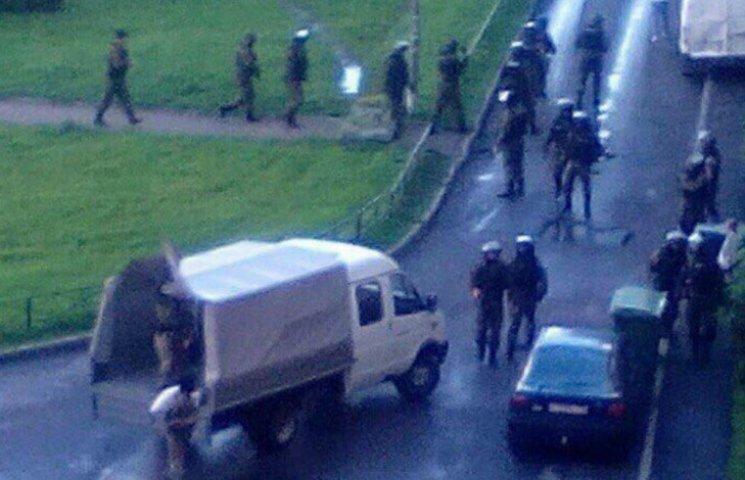 В Петербурге со взрывами задерживают кавказцев (ХРОНИКА)
