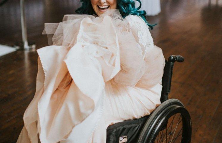 Как парализованная невеста поразила любимого на свадьбе
