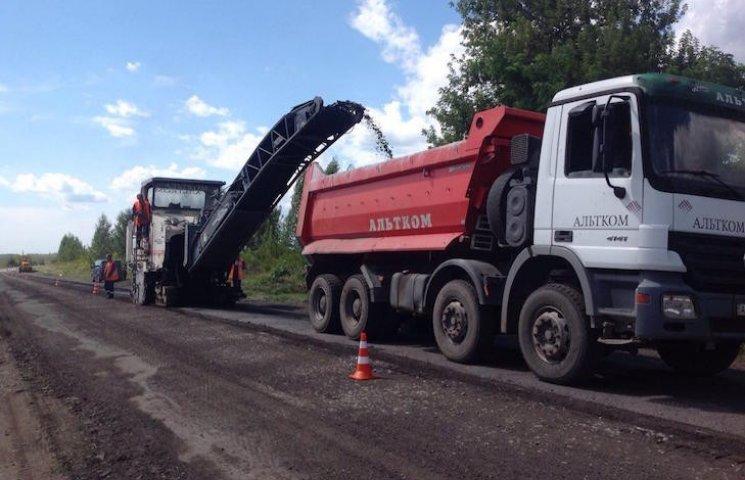 Між Чорнухами і Лохвицею розпочато ремонт дороги