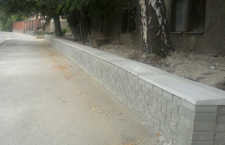 У Вінниці завершили ремонт аварійної підпірної стінки