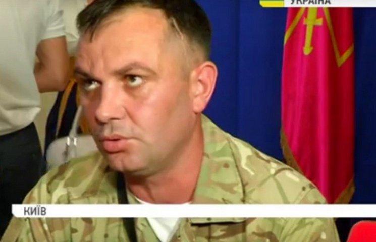 Ветеран АТО презентує у Вінниці свою книгу, в якій розповідає про жахи війни