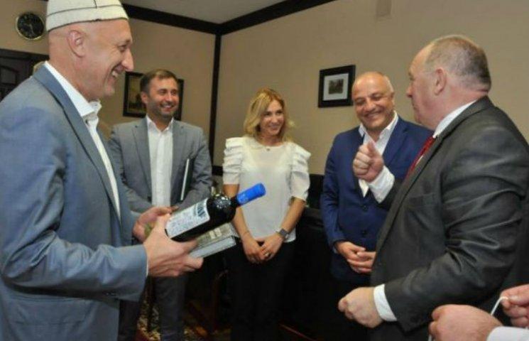 Грузинський губернатор похвалив полтавських корів