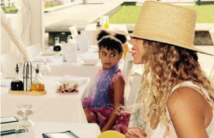 Бейонсе показала підрослу доньку із кумедною зачіскою
