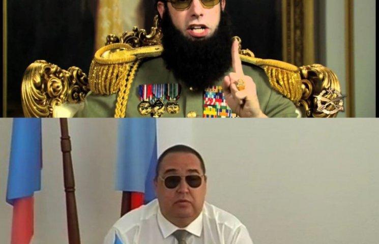 Донбас стайл: Як в мережі тролять сліпого Плотницького в темних окулярах