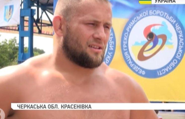 На Черкащині встановлено рекорд України з греко-римської боротьби