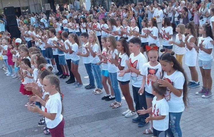 Маленькі вінничани встановирли модний рекорд України