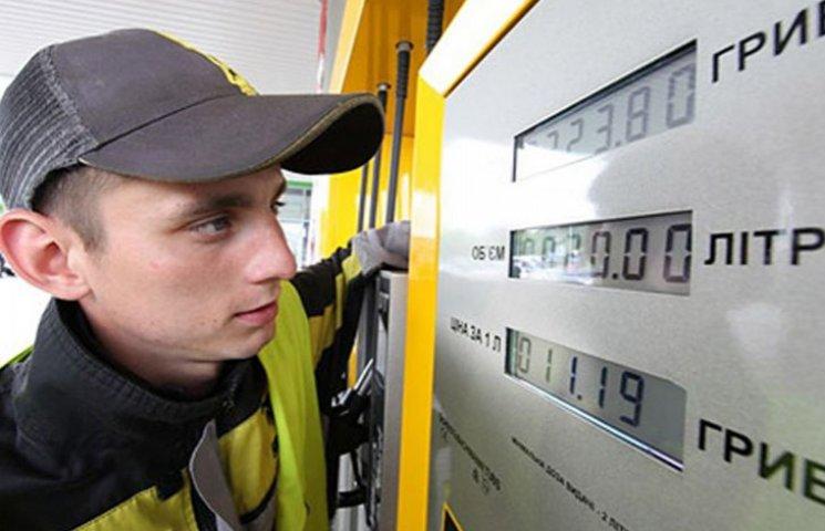 Ціни на бензин в Запріжжі станом на 22 серпня