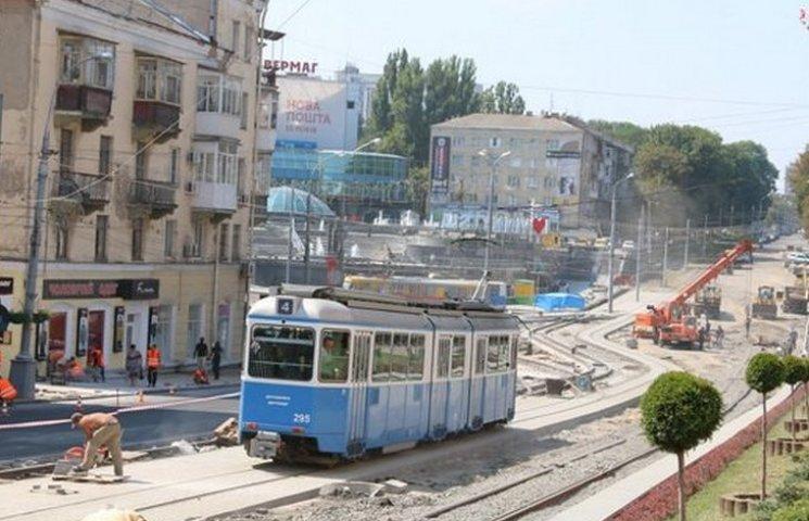 """Вінницькі трамваї пустили по """"оксамитовому шляху"""""""