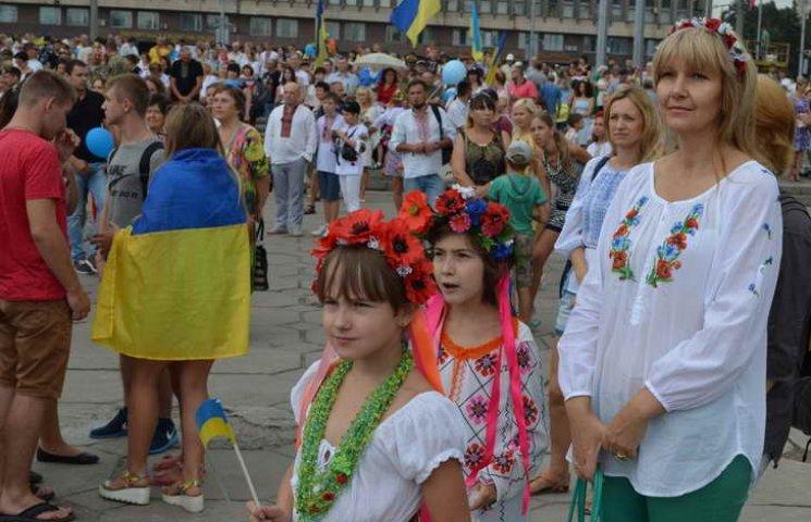 Святкування Дня Незалежності стало наймасовішим в історії Запоріжжя (ХРОНІКА)
