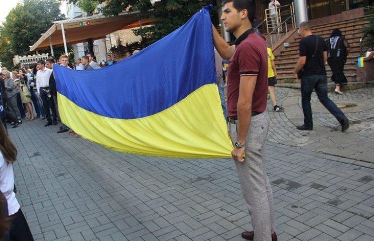 Вінничани приєднались до Всеукраїнського виконання гімну