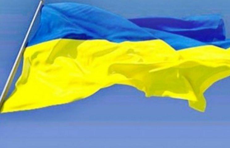 Як відгримів гімн України у центрі окупованого Донецька