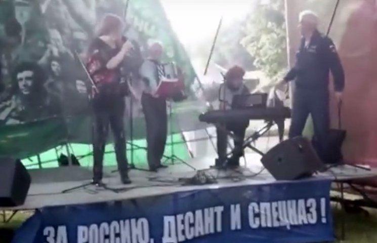 """Боженька ввів """"санкції"""" щодо російських музикантів (ФОТО, ВІДЕО)"""