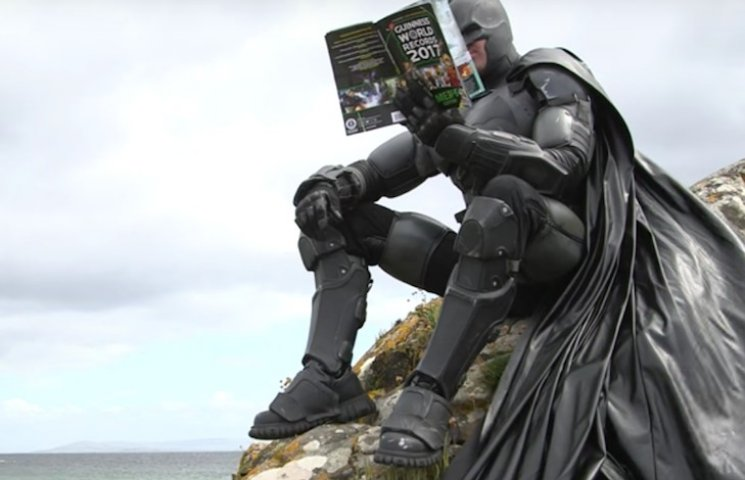 Ірландець сконструював костюм Бетмена і потрапив у Книгу рекордів Гіннесса