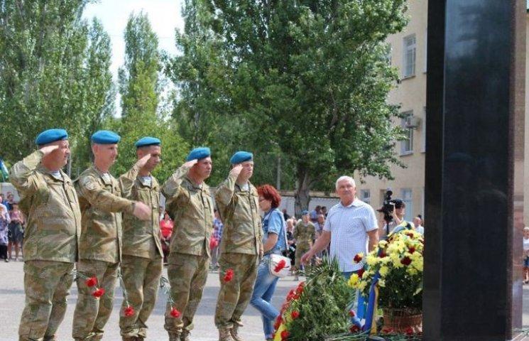 В Николаеве открыли мемориальный комплекс погибшим десантникам
