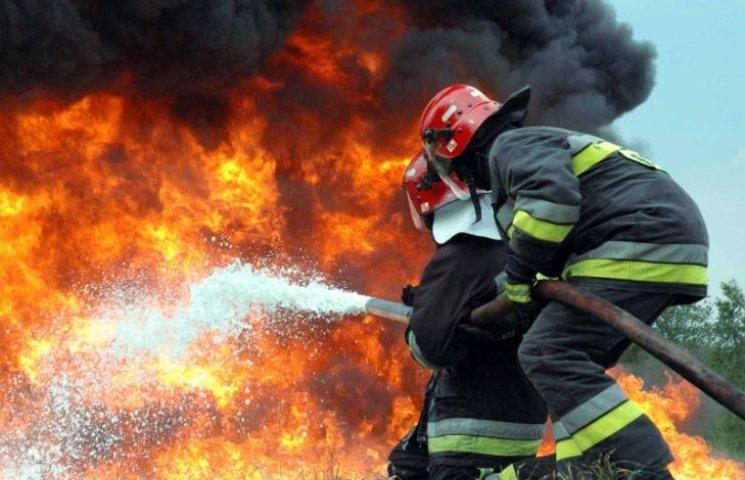 На Миколаївщині рятувальники винесли жінку з палаючого будинку