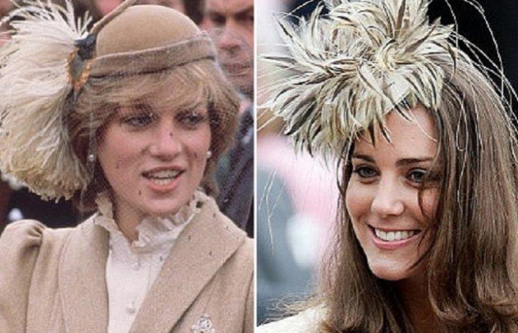 Как Кейт Миддлтон косит под принцессу Диану