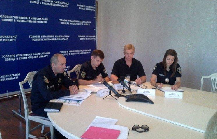 Поліція Хмельниччини зареєструвала понад дві тисячі порушень за місяць