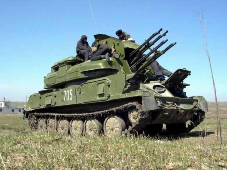 Укроборонпром испробовал модернизированный зенитно-пушечный комплекс Шилка