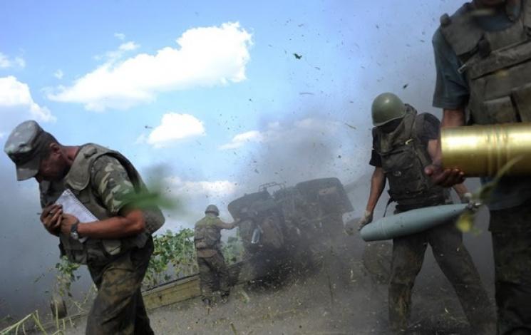 Бой наСветлодарской дуге: Боевики запросили перемирие