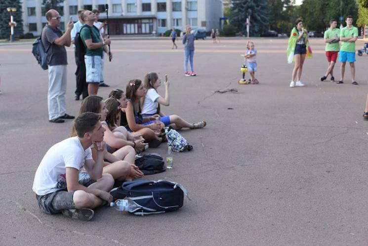 Як у Хмельницькому фестиваль залишився майже без глядачів