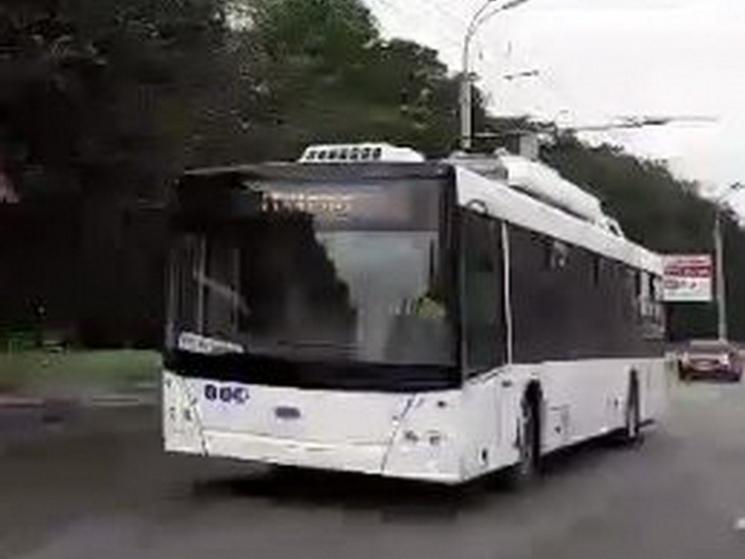 УДніпрі запустили бездротові тролейбуси