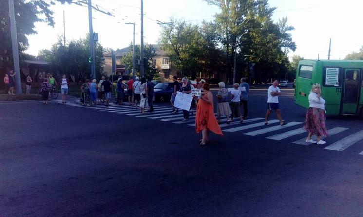 У Харкові близько 100 людей перекрили дорогу, протестуючи проти забудови парку
