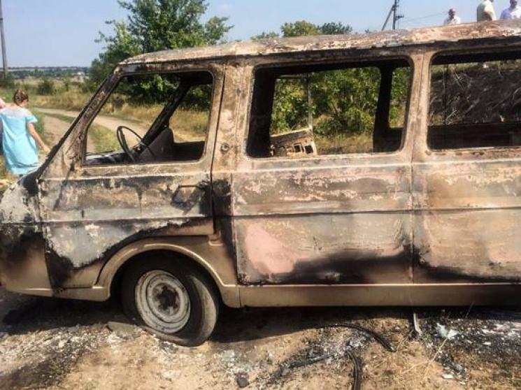 На Миколаївщині чоловік вбив знайомого та спалив труп