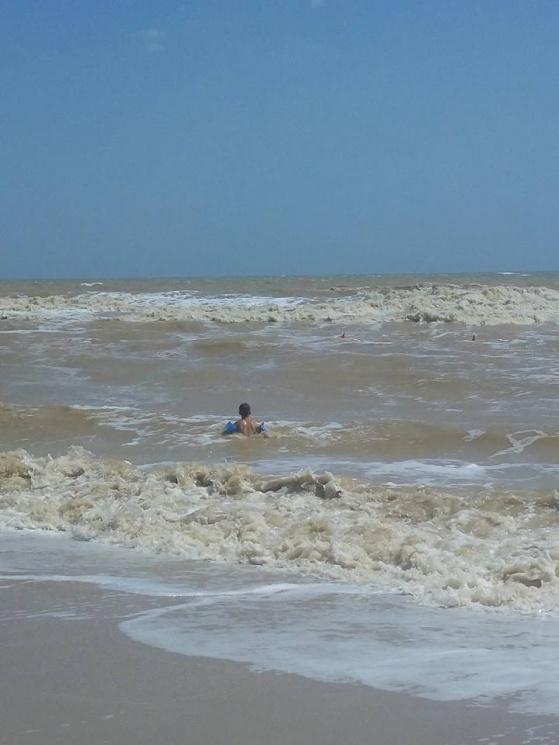 Запорожцев просят воздержаться от купания в море Кирилловки (фото)