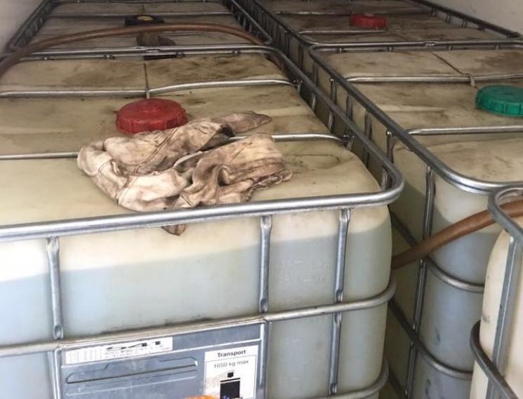 На Одещині прикрили підпільну нафтобазу з російським пальним