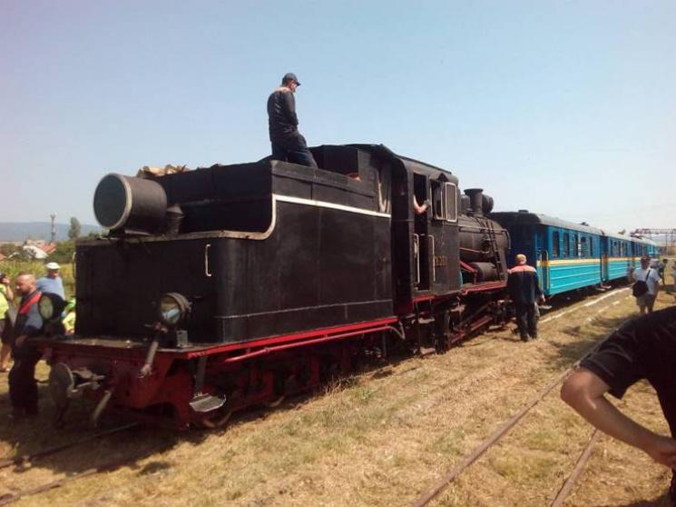 Ретро-потяг рушив із закарпатської Іршави: За кілька хвилин до відправки
