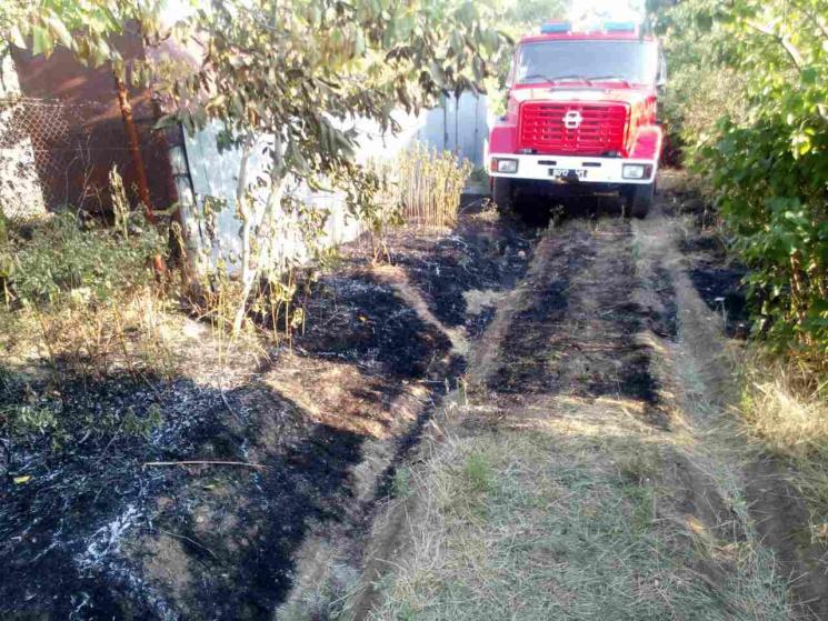 На Одещині сталася масштабна пожежа – згоріли вісім будинків