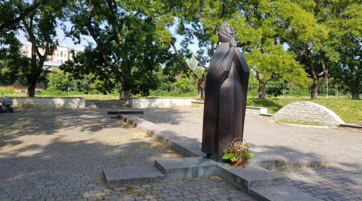 В Ужгороді з пам'ятника воїнам-афганцям відбили плиту з іменами загиблих