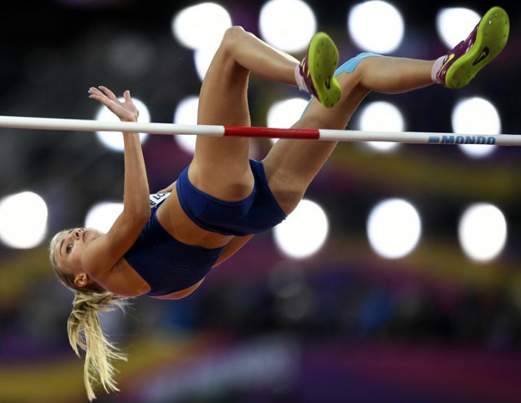 Українка Левченко - срібний призер чемпіонату світу зі стрибків у висоту