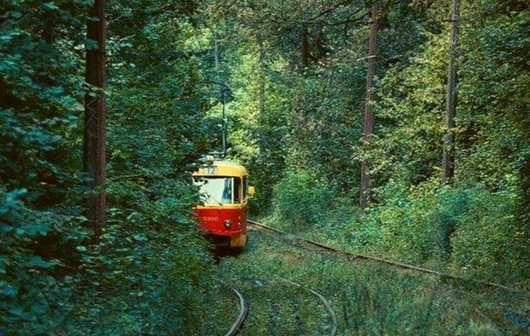 Добра звістка: На Пущу-Водицю знову ходить трамвай