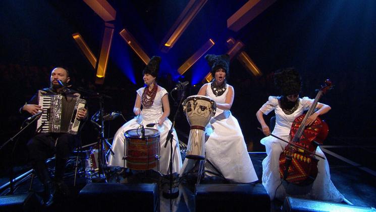 DakhaBrakha покорила Европу на фестивале…