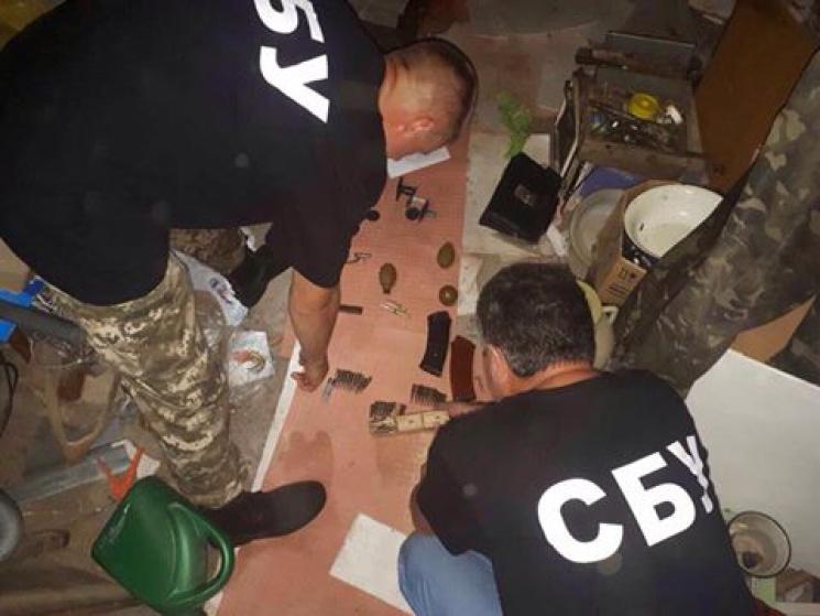 ВОдесской области отыскали схрон сбоеприпасами изАТО